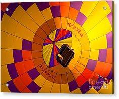 Colorful Underbelly Acrylic Print by Inge Johnsson