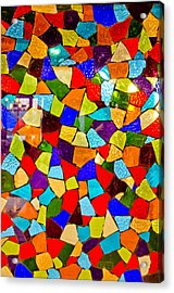 Colorful Visions Acrylic Print by Manu Singh