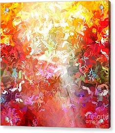Colorplay 9 Acrylic Print by Artwork Studio