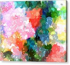Colorplay Acrylic Print by Artwork Studio