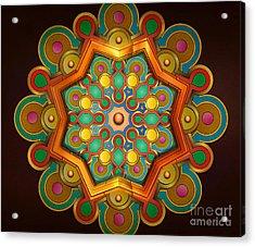 Colors Burst Acrylic Print by Bedros Awak