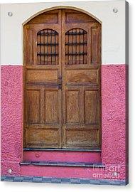 Colors Of Granada I Acrylic Print by Christina Klausen