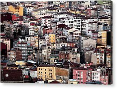 Colors Of Istanbul Acrylic Print by John Rizzuto