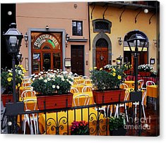 Colors Of Italy Acrylic Print by Mel Steinhauer