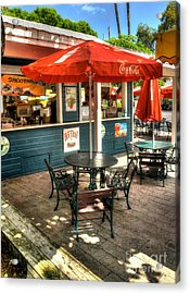 Colors Of Key West 4 Acrylic Print by Mel Steinhauer