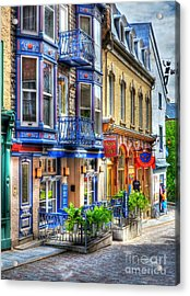 Colors Of Quebec 15 Acrylic Print by Mel Steinhauer