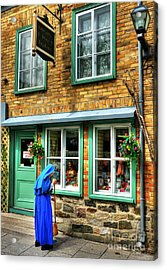 Colors Of Quebec 5 Acrylic Print by Mel Steinhauer