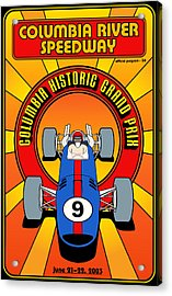 Columbia Historic Grand Prix Acrylic Print by Georgia Fowler