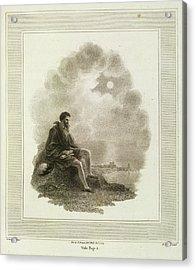 Columbus Acrylic Print by British Library