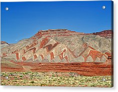 Comb Ridge Utah Near Mexican Hat Acrylic Print by Christine Till