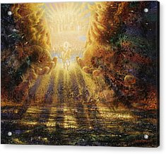 Come Lord Come Acrylic Print by Graham Braddock