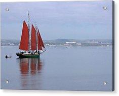 Come Sail Away Acrylic Print by Karol Livote