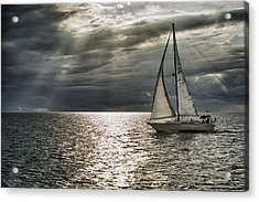Come Sail Away Acrylic Print by Michael White