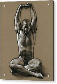 Comfort 2 Acrylic Print by Chris  Lopez