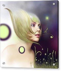 Coming Of Spring - Equinoxes Acrylic Print by Anna Ewa Miarczynska