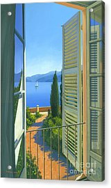 Como View Acrylic Print by Michael Swanson