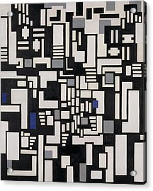 Composition Ix Acrylic Print by Theo Van Doesburg