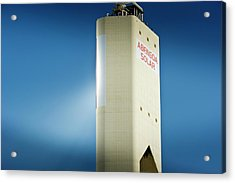 Concentrating Solar Power Plant Acrylic Print by Philippe Psaila