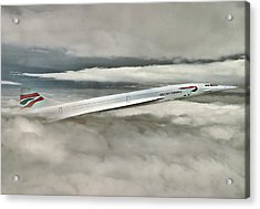 Concord Picking Up Acrylic Print by Yury Malkov