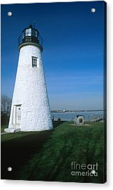 Concord Point Lighthouse Acrylic Print by Bruce Roberts
