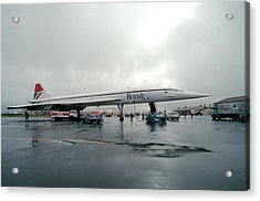 Concorde Refuelling Acrylic Print by Us National Archives