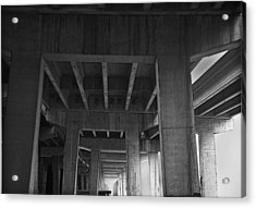 Concrete Cathedral Acrylic Print by Larry Butterworth