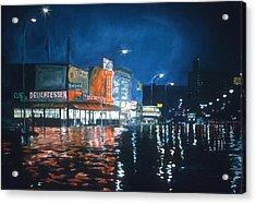 Coney Island Acrylic Print by Anthony Butera