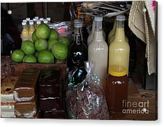 Confections In Talpa Mexico Acrylic Print by Linda Queally