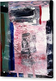 Confusion Acrylic Print by Fatiha Boudar