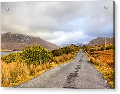 Connemara Roads - Irish Landscape Acrylic Print by Mark Tisdale