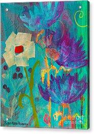 Conscious Living Acrylic Print by Robin Maria  Pedrero