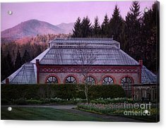 Conservatory At Biltmore Estate Acrylic Print by Doug Sturgess