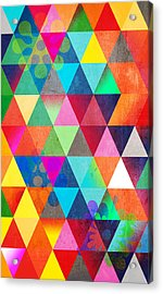 Contemporary 3 Acrylic Print by Mark Ashkenazi