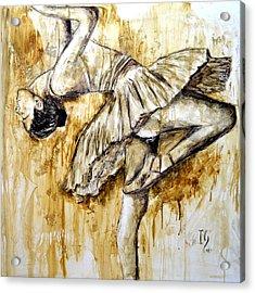 Ballerina Acrylic Print by Ivan Guaderrama