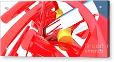 Contemporary Vector Art 1 Acrylic Print by Corporate Art Task Force