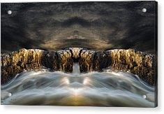 Convergence  Acrylic Print by Bob Orsillo