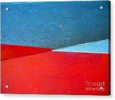 Convergence Acrylic Print by Robert Riordan
