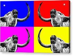 Coo Pop Art Too Acrylic Print by John Farnan