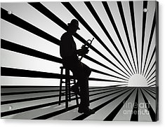 Cool Jazz 2 Acrylic Print by Bedros Awak