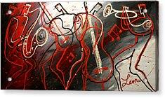 Cool Jazz 2 Acrylic Print by Leon Zernitsky