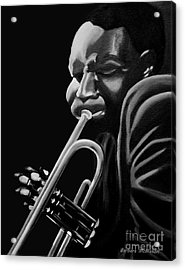 Cootie Williams Acrylic Print by Barbara McMahon
