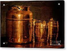 Copper Acrylic Print by Lois Bryan