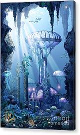 Coral City   Acrylic Print by Ciro Marchetti
