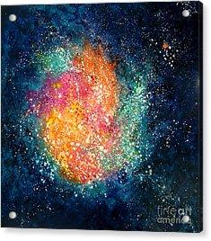 Coral Nebula Acrylic Print by Freddie Lieberman