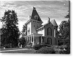 Cornell College President's House Acrylic Print by University Icons