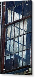 Corner Office Acrylic Print by Jenny Bowman