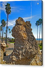 Corona Del Mar State Beach - 02 Acrylic Print by Gregory Dyer