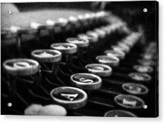 Corona Zephyr Keyboard Acrylic Print by Jon Woodhams
