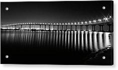 Coronado Bay Bridge Acrylic Print by Ryan Weddle