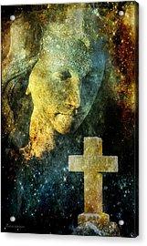 Cosmic Angel Acrylic Print by Melissa Bittinger